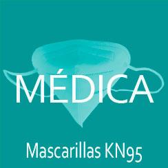 mascarilla médica KN95