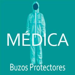 Buzos protectores sanitarios