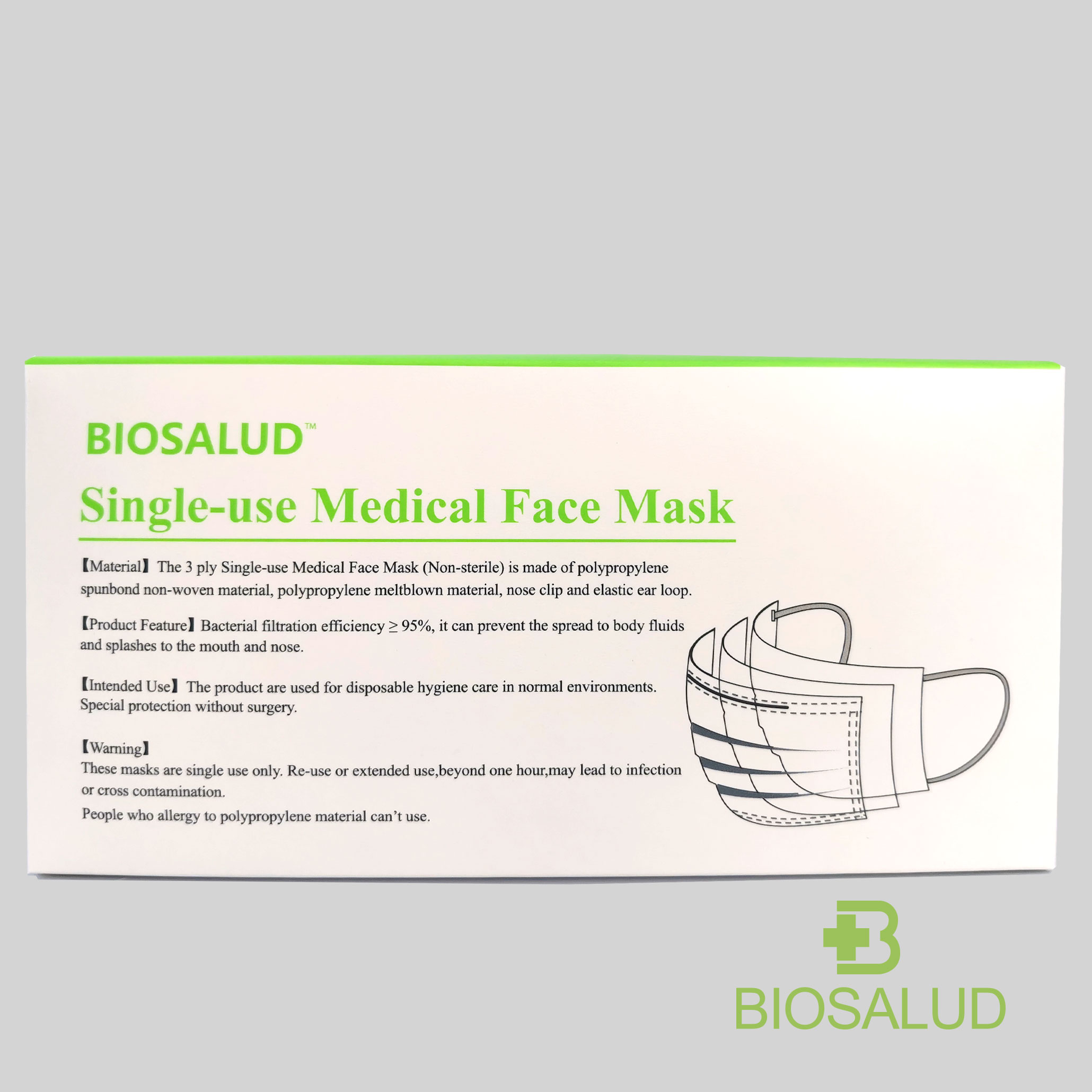 Medical Disposable Mask Non-Sterile