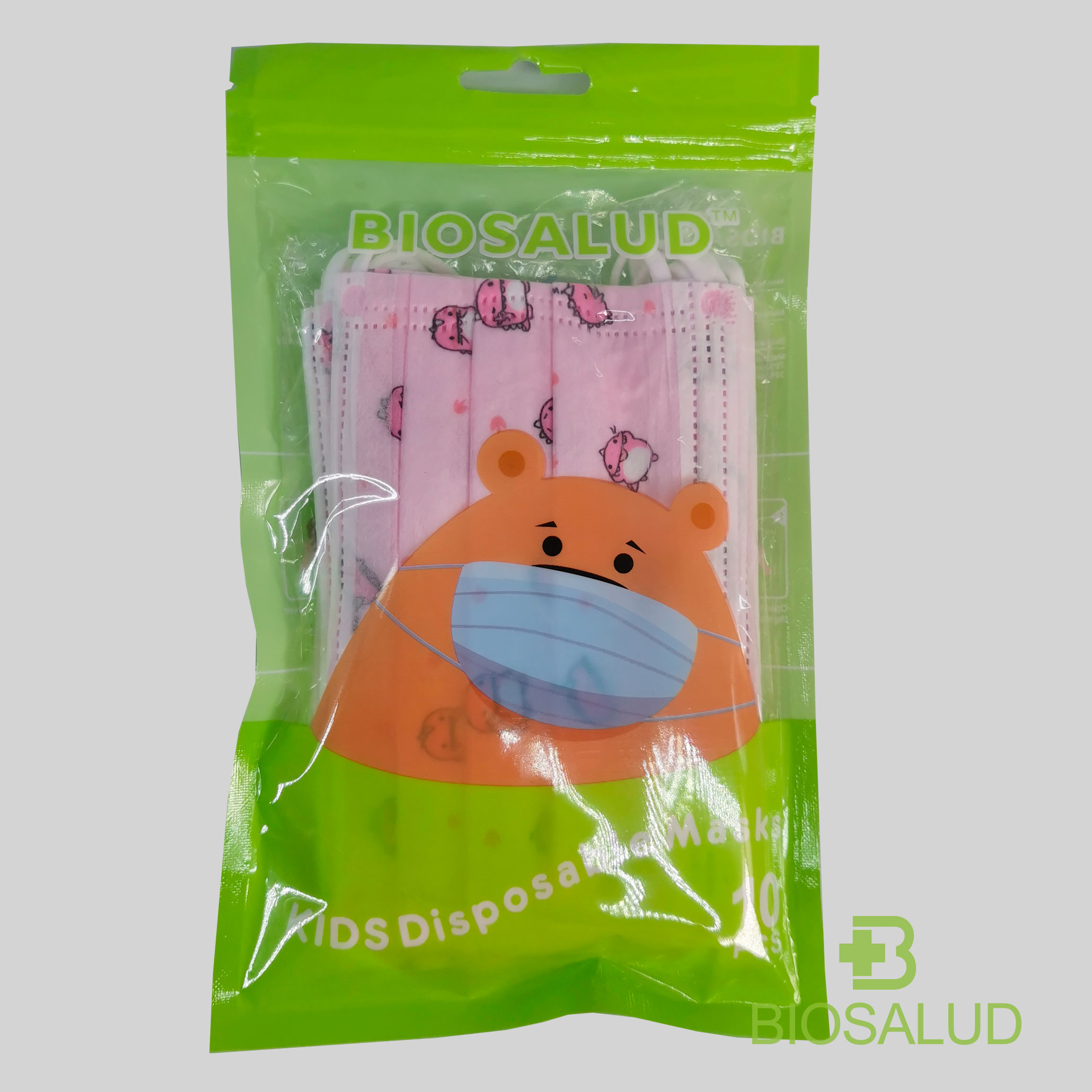 Disposable children's Mask ( Pink )