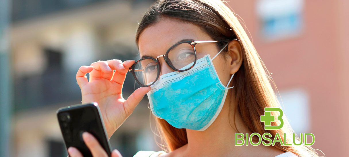 avoid fogging glasses when wearing a mask