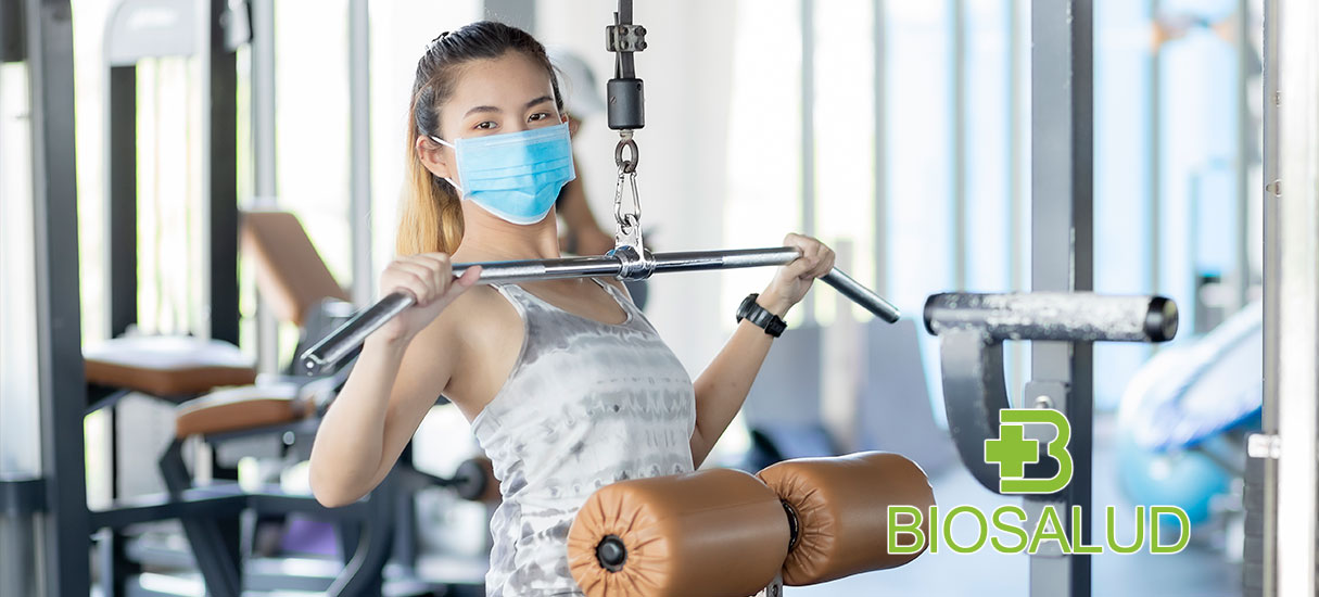 use of masks in gyms