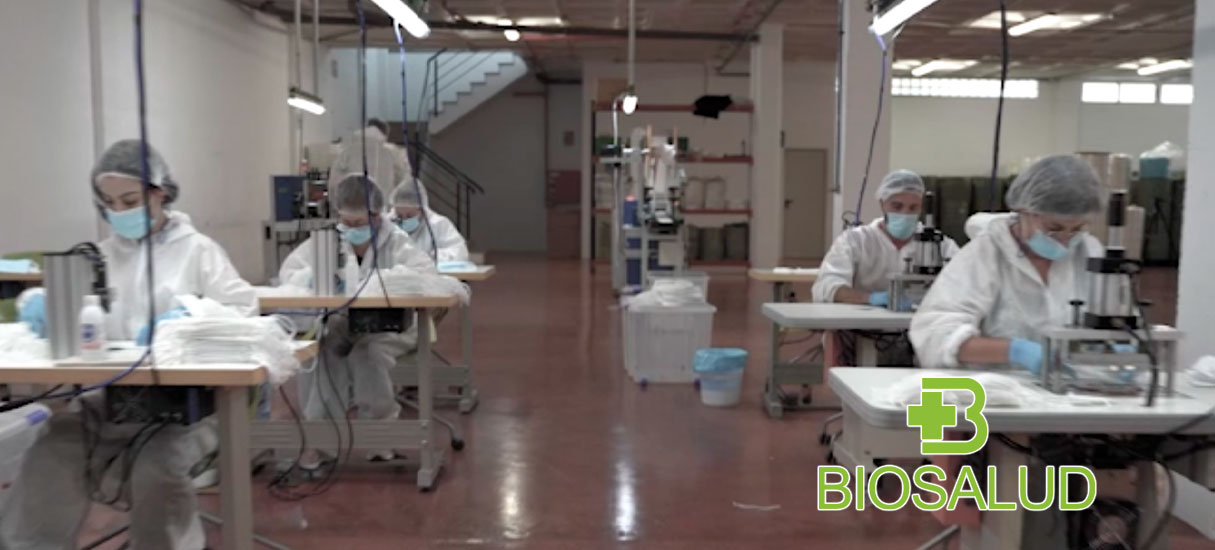 Biosalud, a mask manufacturing company located in sPAIN