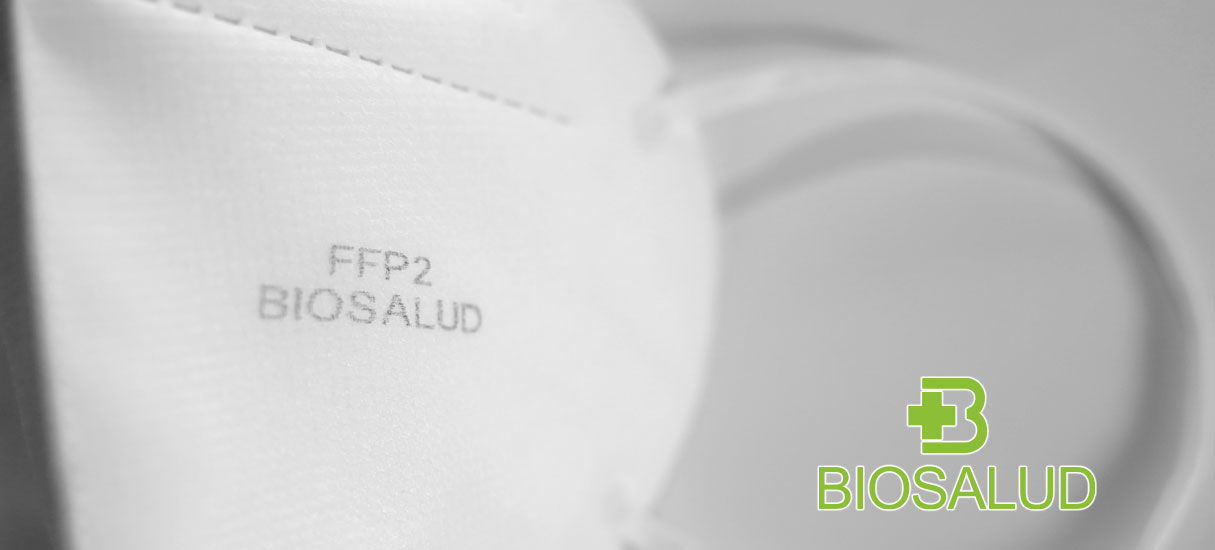 ffp2 Biosalud masks made in Spain